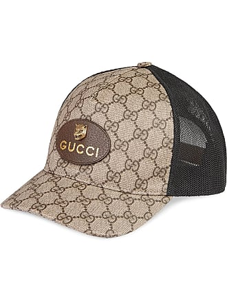 Gucci GG Supreme baseball hat - Tons Neutres d6b76df4d3c
