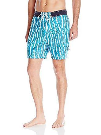 0ea8a16a09 Nautica Mens Quick Dry Pieced Floral Print Swim Trunk, Sail Cream, Large