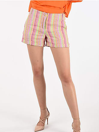 Aspesi Flax Striped Shorts Größe 42