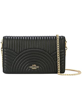 Coach Callie foldover clutch - Black