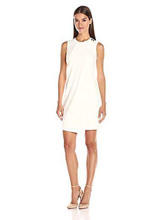 bc7fb237f77 Calvin Klein Womens Sleevelss Overlay Sheath Dress