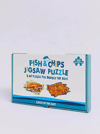 Fizz Creations Fizz - Fish and Chips - Puzzle-Multicolore