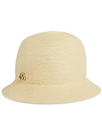 1078a867069 Gucci GG logo raffia hat - Neutrals