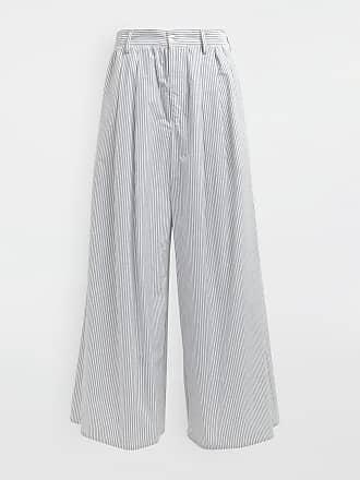 Maison Margiela Mm6 By Maison Margiela Casual Pants White Cotton