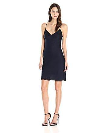 Only Hearts Womens Paloma Beach Slip Dress, Navy, L