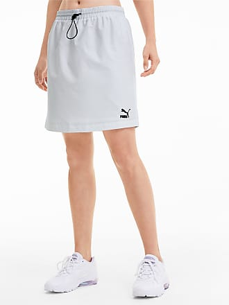 Puma Classics Woven Womens Skirt, White, size X Small, Clothing