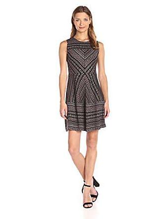 b544879aa3 Bcbgmaxazria BCBGMax Azria Womens Cassandra a Line Dress, Black/Red Berry  Combo X-