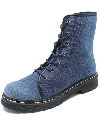 Cravo & Canela Bota Cravo & Canela Jeans Azul