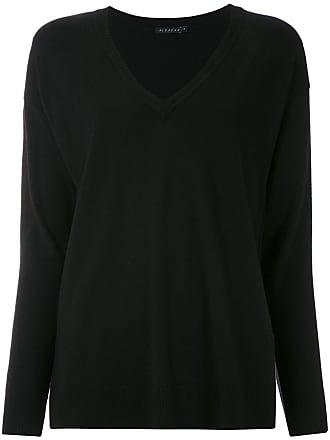 Alcaçuz Blusa Jequitiba de tricô - Preto