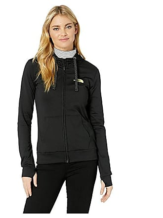 70ee359fb2 The North Face Fave Lite LFC Full Zip (TNF Black Exotic Green) Womens