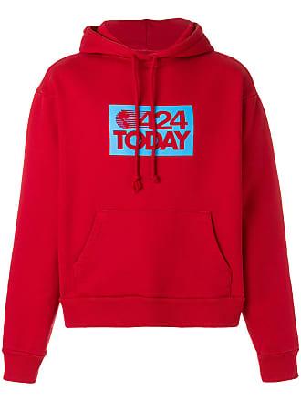 424 Moletom com capuz 424 Today - Vermelho