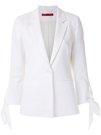 HUGO BOSS Blazer mangas com amarração - Branco