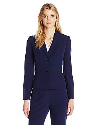 Kasper Womens Two Button Jacket, Indigo, 12