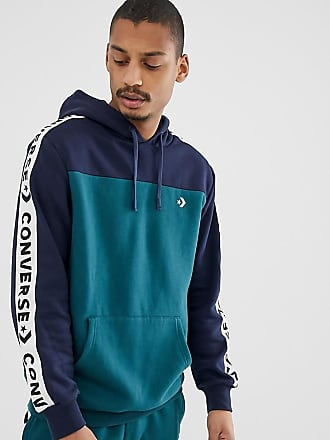 9ce2b1fc52de Converse Hoodie With Tape Side Stripe Exclusive To ASOS