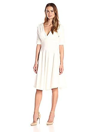 65a719800a98 Unique Vintage Womens 1950S Pin-Up Style Delores Retro Swing Dress, White,  Large