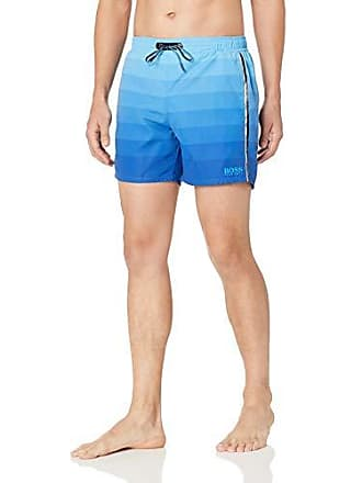 99851e94eb HUGO BOSS BOSS Mens Monkfish Swim Trunk, Blue, M