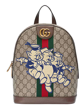 Gucci Sac à dos Ophidia GG à empiècement Les Trois Petits ... c9b8049f409