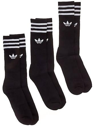 2dcfa649a8e adidas Originals Solid Crew Socks black / white