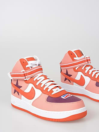 Nike Sneakers AIR FORCE 1 HI in Pelle taglia 11 692d65d6557
