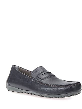 Geox Mens Leather Moccasin Drivers