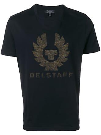 Belstaff Camiseta com logo - Preto
