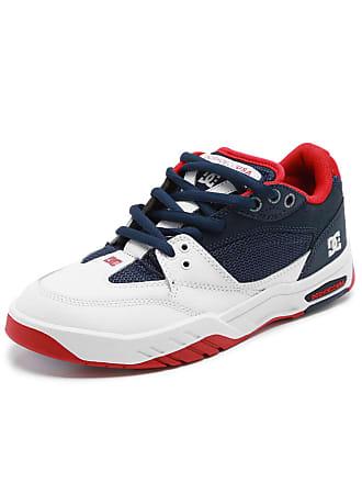 DC Tênis Couro DC Shoes Maswell Branco