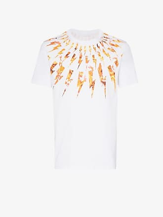 Neil Barrett Flame Bolt print T-shirt