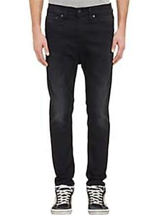 R13 Mens Drop Skinny Jeans - Black Size 32