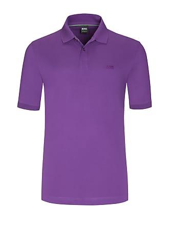 BOSS Übergröße   Boss, Poloshirt aus 100% Pima-Baumwolle in Lila für Herren c1382e46f7