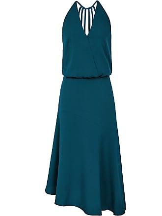 f746de95e2b5d Reiss Fiona - Beaded Strappy Midi Dress in Teal