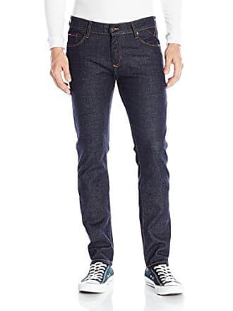 3736e89c Tommy Hilfiger Denim Mens Jeans Original Scanton Slim Fit Jean, Rinse  Comfort, 36x30
