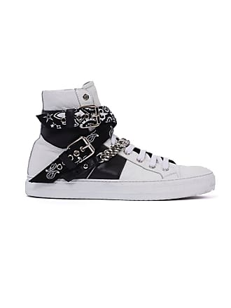 Amiri White Sunset Bandana Sneakers - The Webster