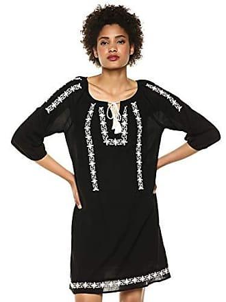Lucky Brand Womens Kelly Shift Dress, Lucky Black, S