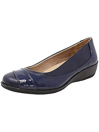 af4da4c2e97 Life Stride Womens ILARA Loafer Flat Navy 7.5 2W US