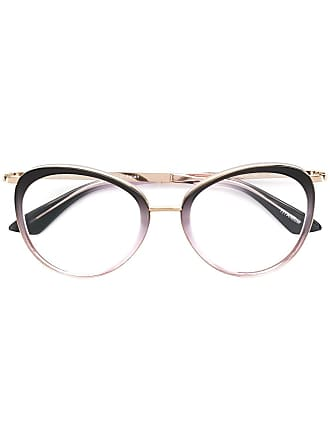 Emmanuelle Khanh round frame glasses - Rosa