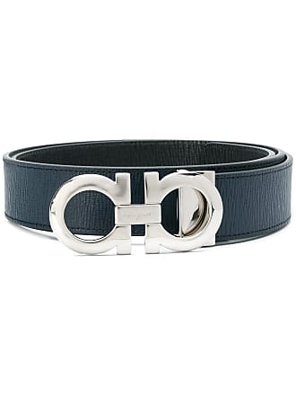 Salvatore Ferragamo reversible Gancini belt - Blue