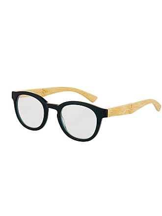 105386080d Eyebobs Gone Fishing Round Acetate Bamboo Reading Glasses