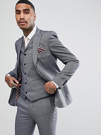 Rudie Chaqueta de traje ajustada de jacquard en gris claro de Rudie d575c6cc83d