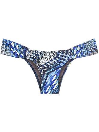 ea9ad8c85ae40 Lygia   Nanny Ritz printed bikini bottom - Blue