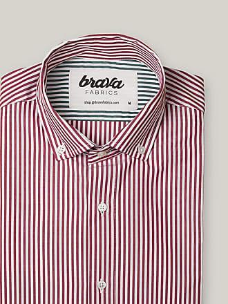 Brava Fabrics Red Kodak Stripes Essential Shirt
