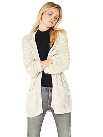 Billabong Womens Laid Back Cardigan Sweater White Cap Large