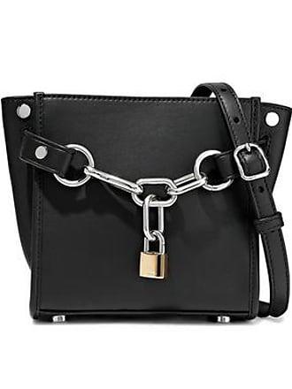 061605b89a Alexander Wang Alexander Wang Woman Attica Chain-embellished Leather  Shoulder Bag Black Size