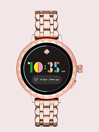 Kate Spade New York Rose Gold-tone Stainless Steel Scallop Smartwatch 2, Rose Gold