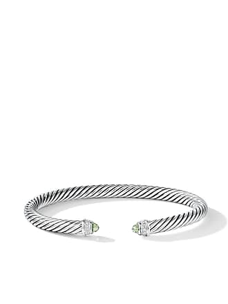 David Yurman Cable Classics prasiolite and diamond cuff - Ssapldi