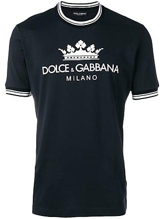 Dolce & Gabbana Camiseta com estampa Milan - Azul