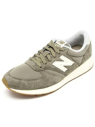 2e09df1f73 New Balance Tênis Couro New Balance WRL420RB Verde Bege