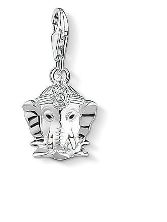 72664efffca Thomas Sabo Thomas Sabo Charm pendant Hindu god Ganesh silver-coloured  1445-041-