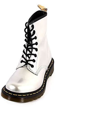 019c76679dd821 Dr. Martens Dr.Martens 1460 Vegan 24865040 Chrome Paint Metallic Synthetic  Womens Boots -