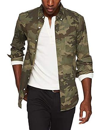 J.crew Mens Slim-Fit Long-Sleeve Camo Shirt, Classic, XL