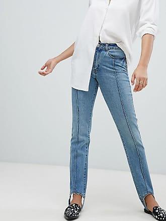 Vero Moda Stirrip Straight Leg Jeans L32 - Blue